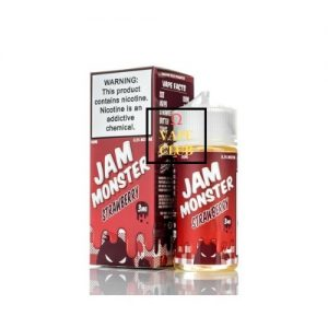JAM MONSTER REDBERRY 100ML