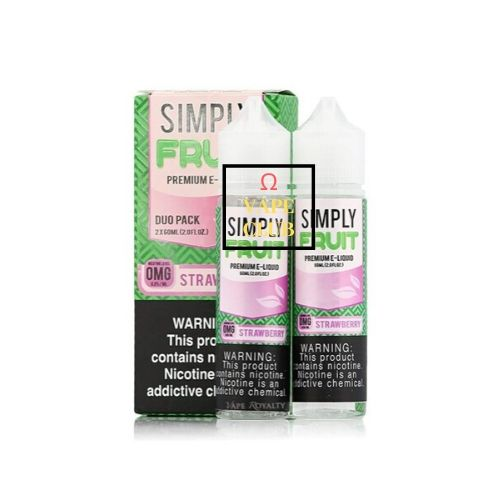 TINH DẦU SIMPLY FRUIT - STRAWBERRY 60ML
