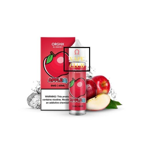 TINH DẦU ORGNX E-LIQUID APPLE ICE 60ML
