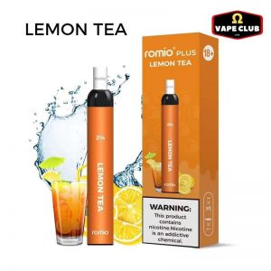 Romio Plus Lemon Tea Ice - Vape Pod dùng 1 lần