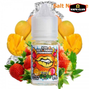 Salt Nicotine Mango Strawberry Iced Pop 30ml
