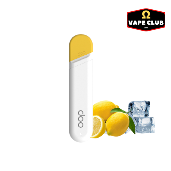 Doo One Disposable Lemon 400 Puff