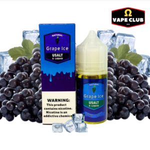 Usalt E-Liquid Grape Ice 30ml 30mg