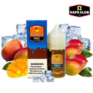 Usalt E-Liquid Mango Ice 30ml 30mg